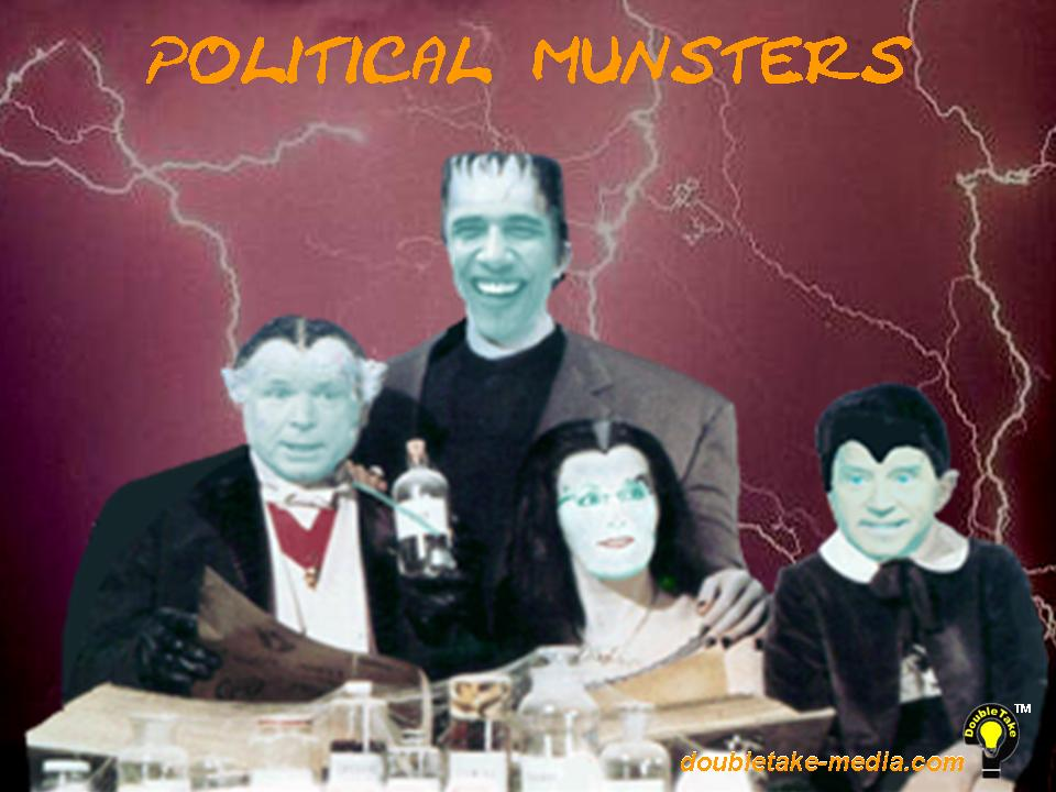 Monster Mash Bash - Political Munsters